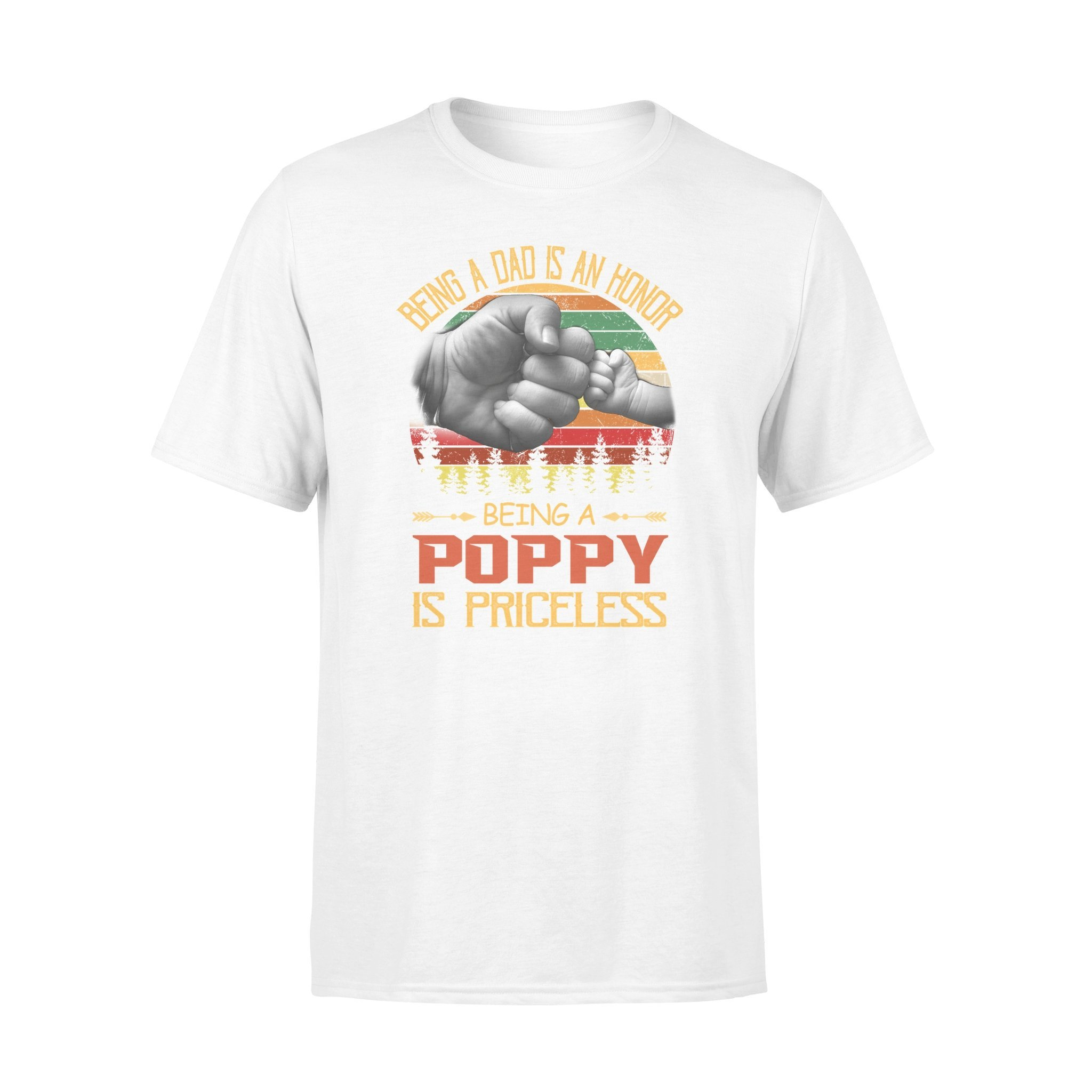 poppy is priceless T shirt - Gifts for grandpa
