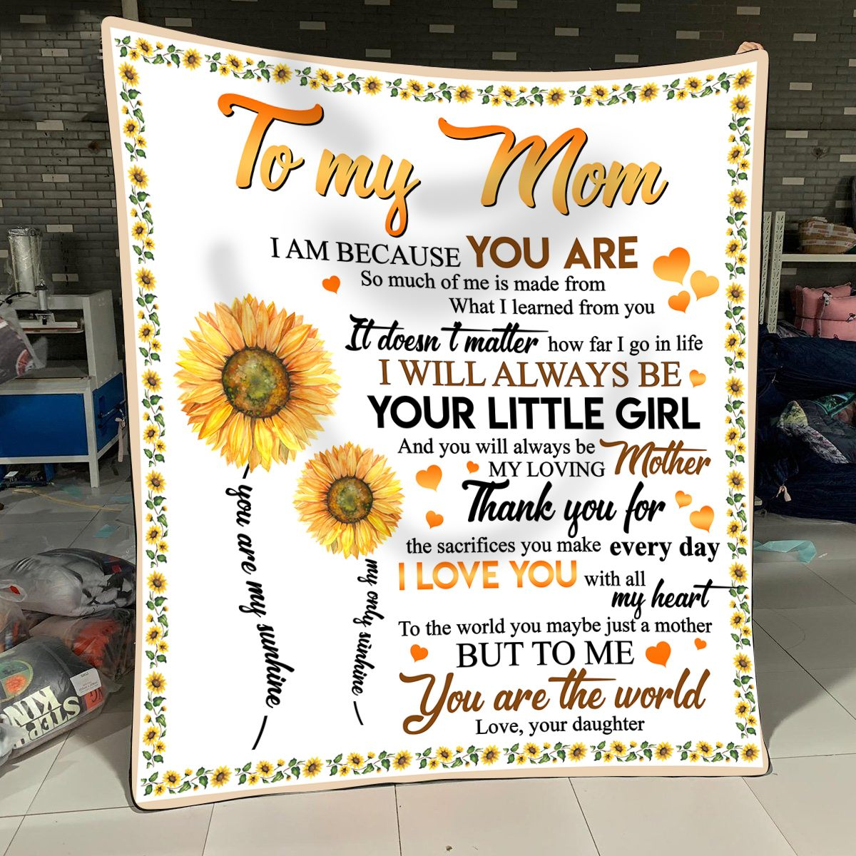 To my mom you are the world to me I love you with all my heart blanket, gift for mom, mother's day gift ideas 2020, birthday gift for her, mother's day gift ideas for mom, mom gifts, best birthday gifts for mom