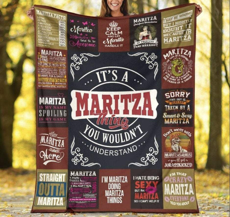 Blanket it's a thing you wouldn't understand gifts for outgoing girl - GST