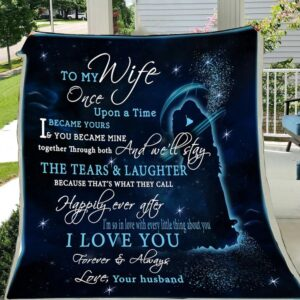 G-family blanket - To my wife - Once upon a time