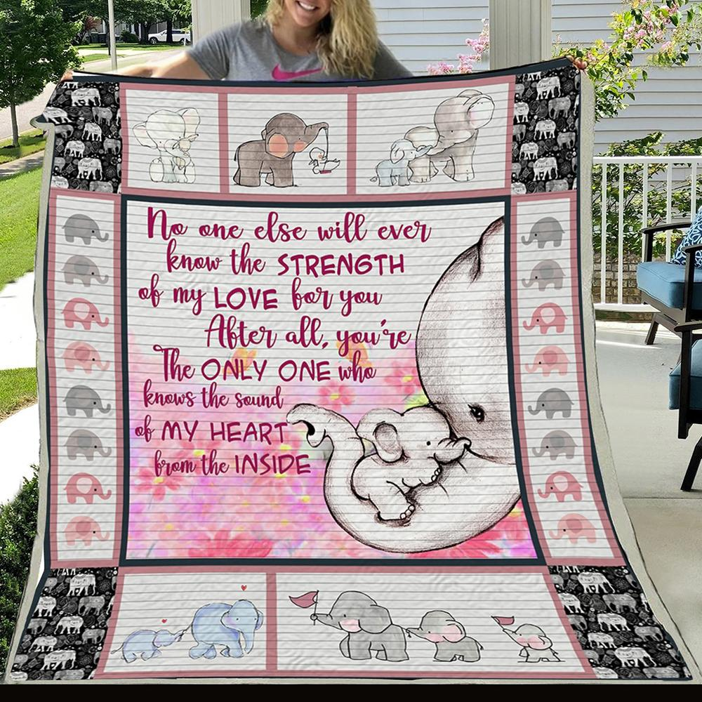 G-Elephant blanket - No one else will ever
