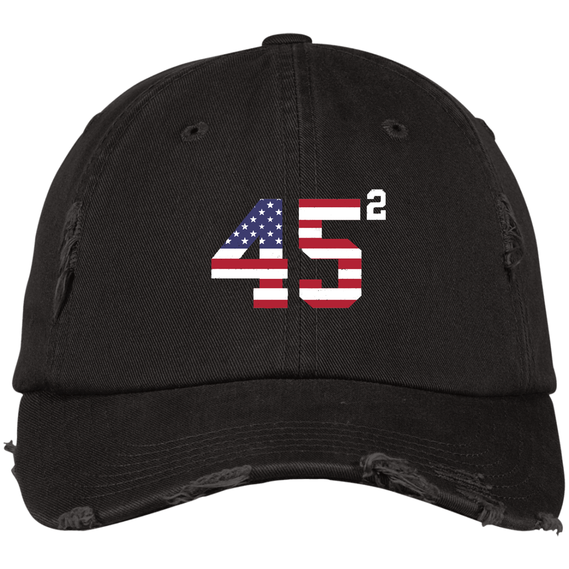 45 Trump Hat Cap Flag Usa