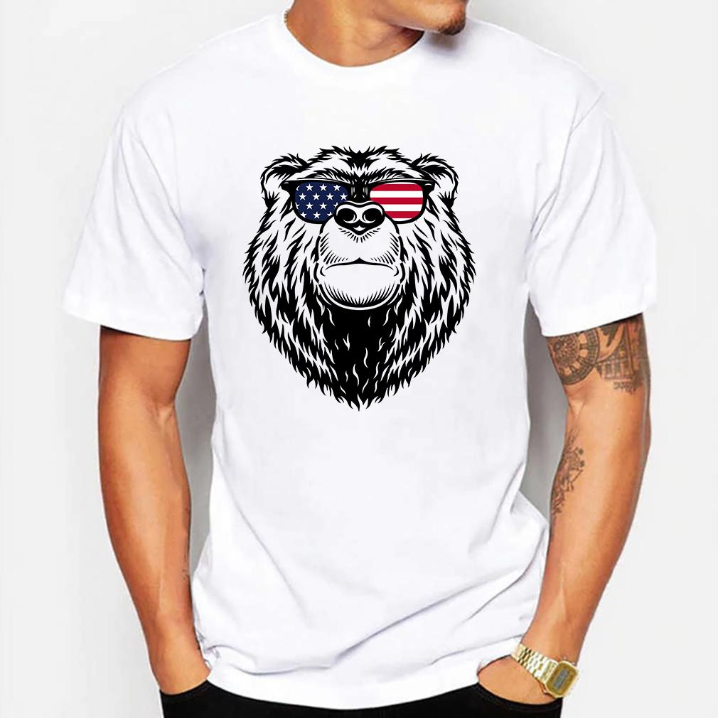 Papa Bear 4Th Of July Shirts Gift For Couple